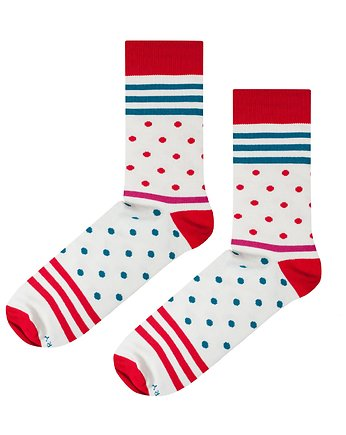 Soxstory, Skarpetki Red Stripes n Dots