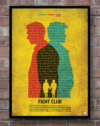 Fight Club - plakat