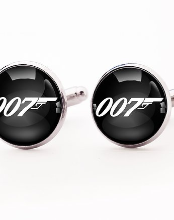 EgginEgg Men, James Bond - spinki do mankietów - 0245