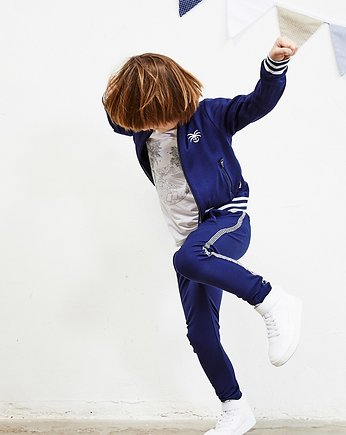 Banana Kids, Bluza dziecięca Moonlight Bomber Jacket Navy