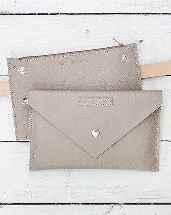 Alicja Getka LAB, Belt Pouch/ Fanny Pack / Natural