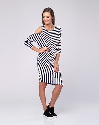 sukienka casual, Sukienka Stripes Look 612
