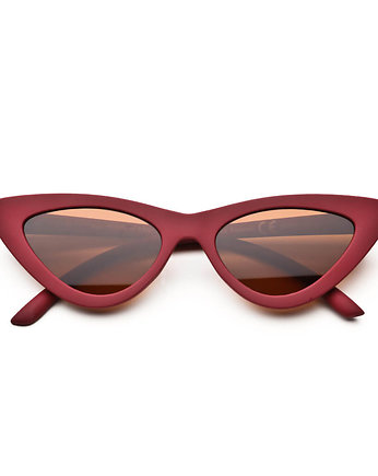 Brylove, Milan Top Colors  Burgund, okulary koty