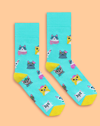 Banana Socks, Cat Lover - skarpety BANANA SOCKS