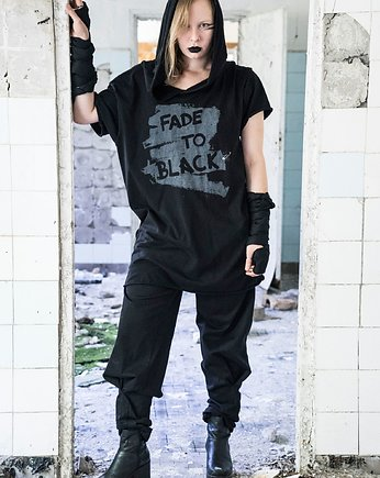 Fade to Black T-Shirt Unisex Długi