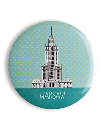 LOVE POLAND DESIGN, MAGNES 56 mm - Pałac Turkus
