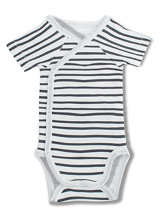 Streaky Bodysuit - short sleeve