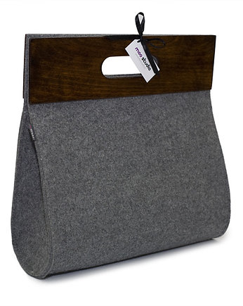 vegan bag, Glamour Gray
