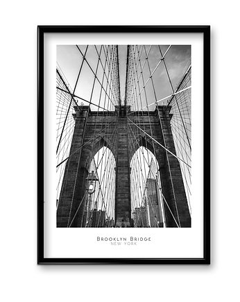 Bury Lis, Brooklyn Bridge - plakat