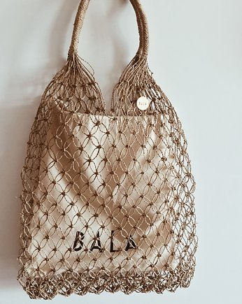Vintage wyplatańce, Shopper BALA net bag