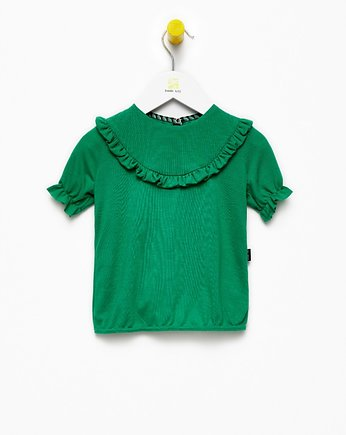 Waves Blouse Green