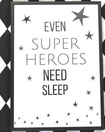 Plakat / EVEN SUPERHEROES - A3