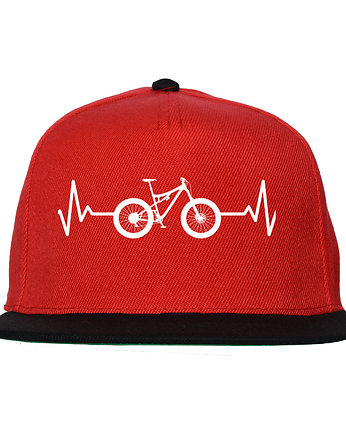 Czapka FullCap EKG FULL black/red