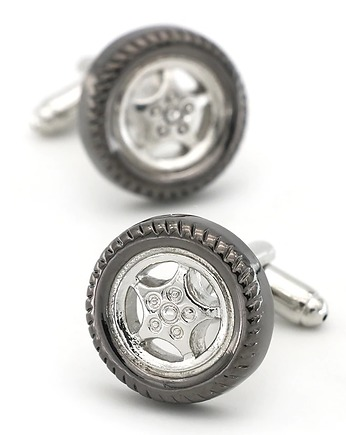 koło opona Spinki do mankietów KOSZULI cufflinks