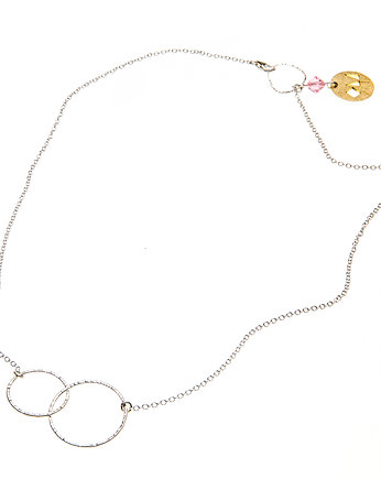 OM jewellery, ETER necklace: pink