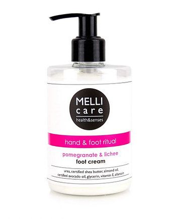 MELLI care, pomegranate & lichee foot cream 300ml