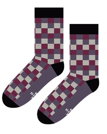 Krata Bordo  - Skarpety Sox in the Box