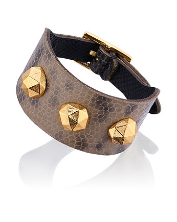 Joccos Design, Geometric Octagon Military Green Bracelet