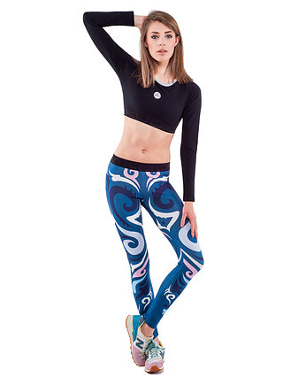 Mut Leggings (Navy Blue)