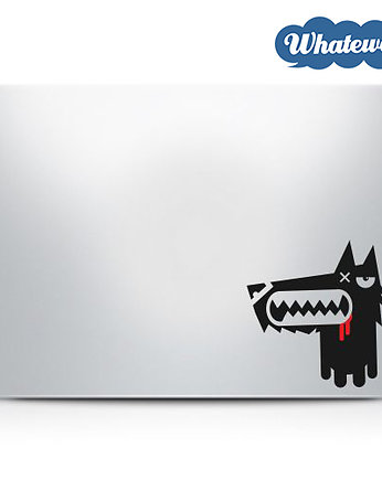 Whatewa, Naklejka na laptop Wilk Wolf decal Sticker