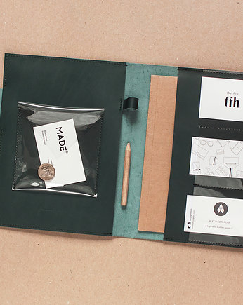 Alicja Getka LAB, ORGANIZER / ETUI - Dark Green