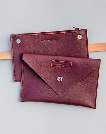 Alicja Getka LAB, Belt Pouch/ Fanny Pack / Plum