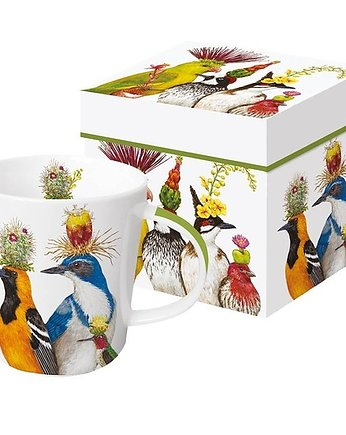 Kubek Porcelanowy Happy Birds
