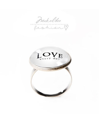 Love - simple ring