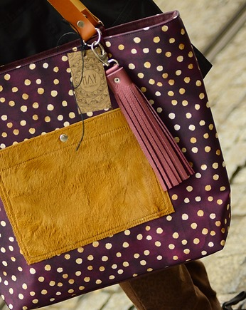 MAY, Shopper  Pocket Bordo