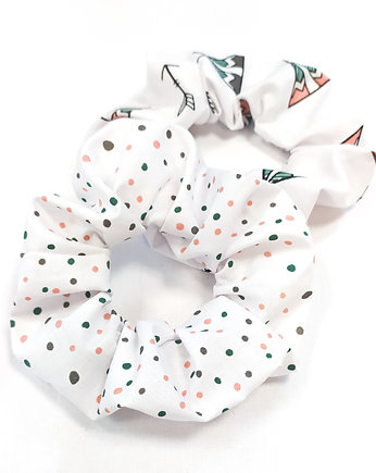 Zero Waste, Gumka do włosów frotka scrunchie