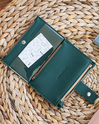 Alicja Getka LAB, Portfel - Pocket BIG / Dark Green
