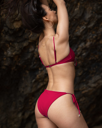Summer essentials, TROPIKO SWIMWEAR - dół bikini FARO red