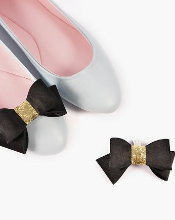 buty, NEW! Klipsy do butów Coquet- Party Time / Black
