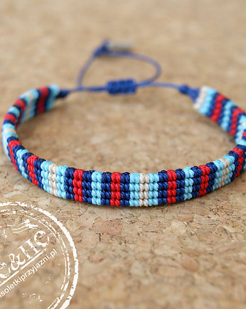 SHEandHE, Road - navy blue/l.blue/red - 8 mm