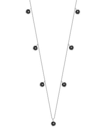 Alicja&Maria Jewellery, Choker Simple Black Silver