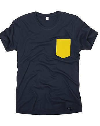 mmhm, neon pocket - organic t-shirt