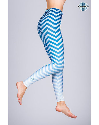travel, Legginsy Ziko Zakoo High - Blue