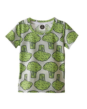 Zieleń, t-shirt broccoli green