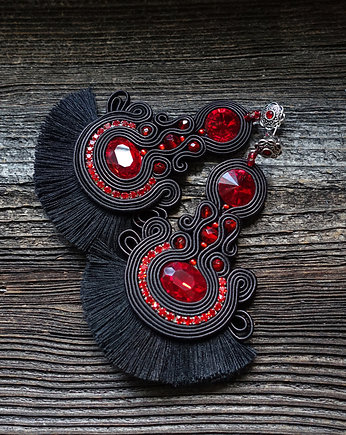 Mrosoutache, Flamenco collection- Sevilla- kolczyki