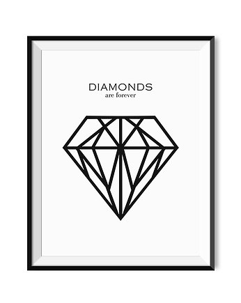 diamond, Plakat -Diamond 30x40