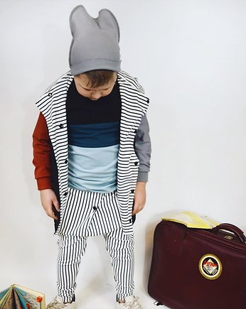 Baggy stripes ecru