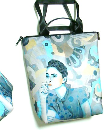 1328 art MIMA bag UNI & Marcin Painta print