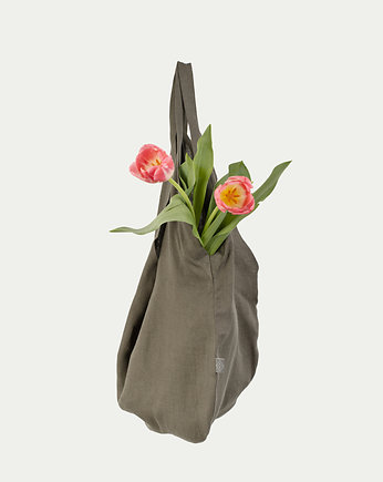PROUDLY DESIGNED, LINEN BAG - Oliwkowa