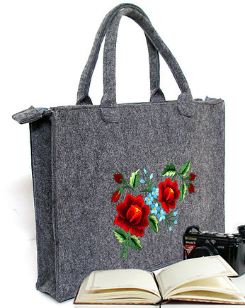 BOHEMIAN Folk Bag (Handmade Art Embroidery)