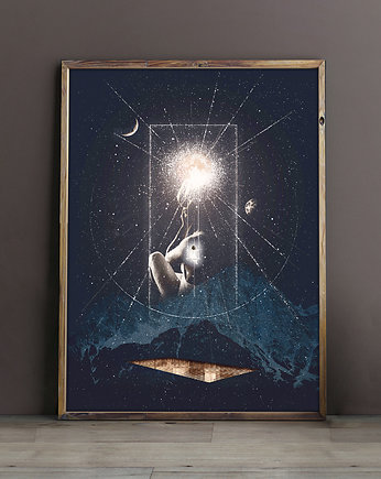 Zakrzewska, poster   Under the Moon