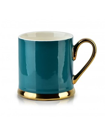 MIA home passion, Kubek Porcelanowy Candice Navy Green