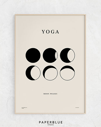 PAPERBLUE, Yoga - print