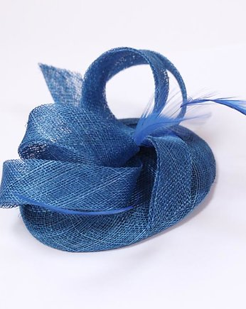 hat, Fascynator 'royal blue'