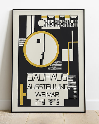 Bauhaus, Bauhaus Art Exhibition-plakat