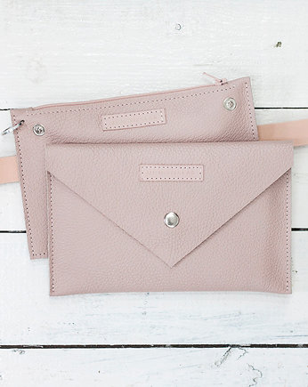 Belt Pouch/ Fanny Pack / Powder Pink,